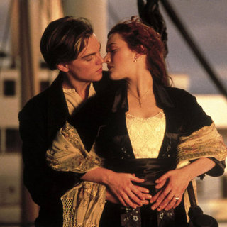 Kate Winslet and Leonardo DiCaprio in Titanic Pictures