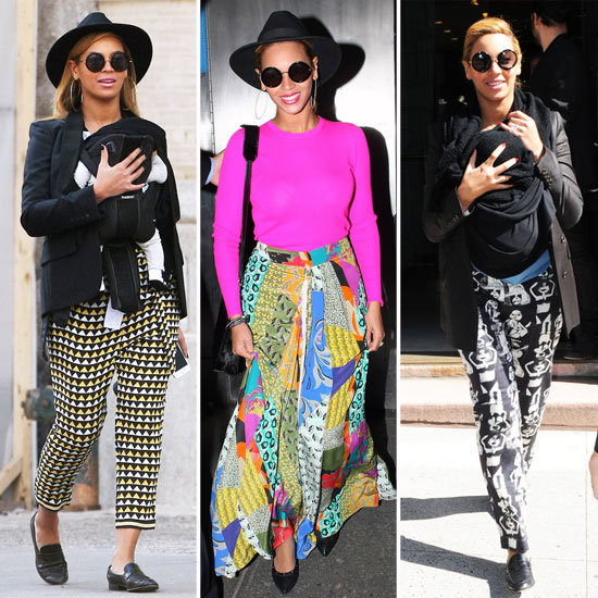 On the Fence About Bright Prints? Beyoncé Makes a Case For Seriously Bold Patterns