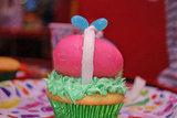 Easter Egg Cupcake Surprise