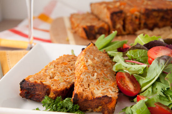 Put a little twist on your traditional Seder fare and make the Healthful Pursuit's recipe for chicken noodle meatloaf. The gluten-free rice noodles are also kosher.