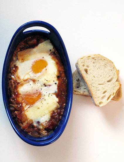 Cinnamon-Spiced Baked Eggs