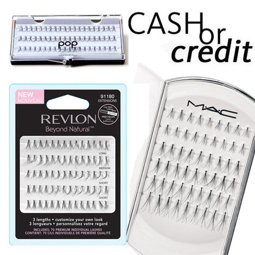 Individual False Eyelashes on Every Budget