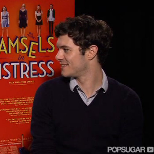 Adam Brody Damsels in Distress Interview (Video)