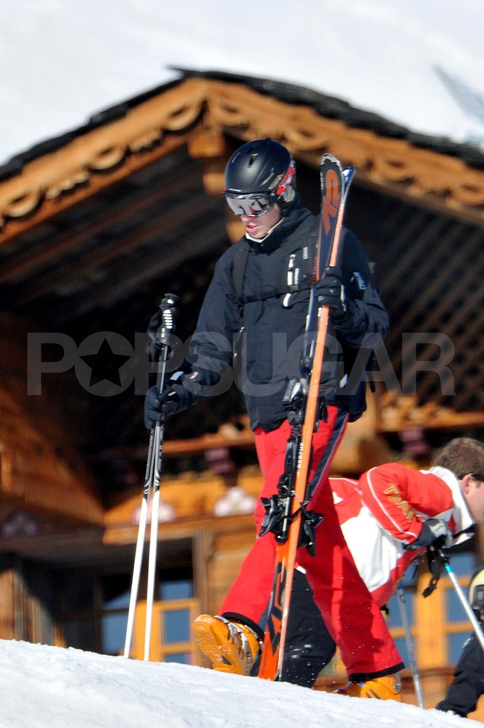 Prince William went to France for a ski vacation with the Middletons.