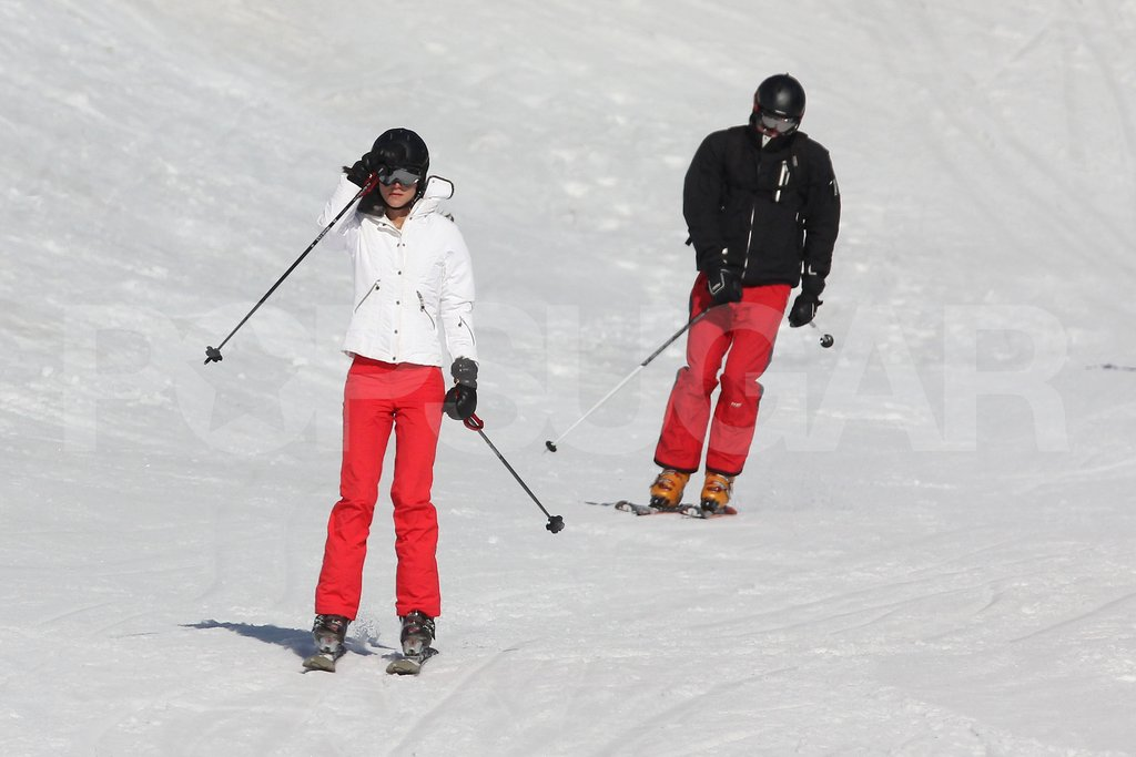 Kate Middleton and Prince William skied together on vacation in France.
