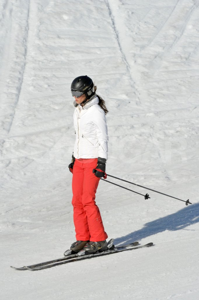 Kate Middleton skied down the slopes on vacation with her family in France.