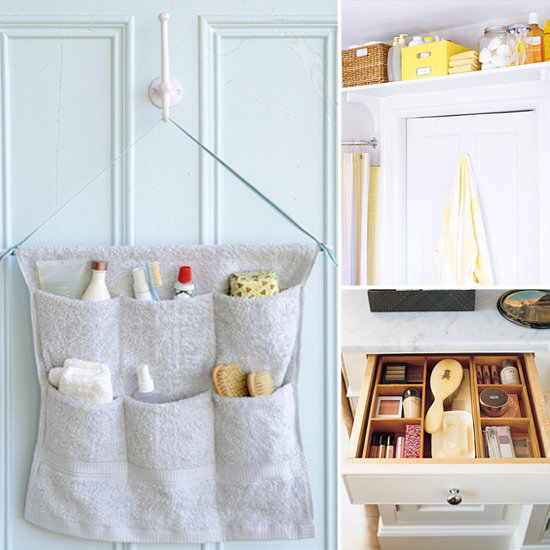 8 Smart Ideas For Bathroom Organization