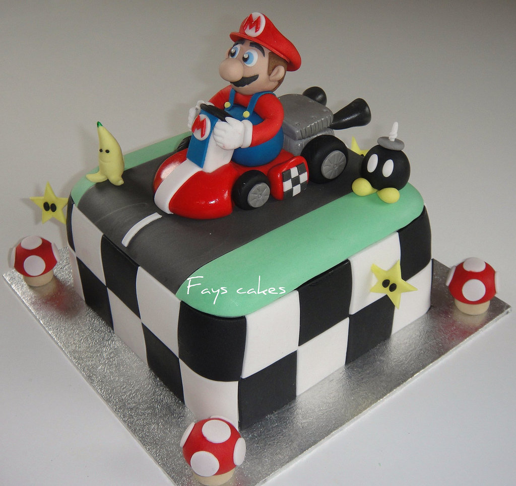 For the Mario Kart obsessed. Source: Flickr User Fays cakes