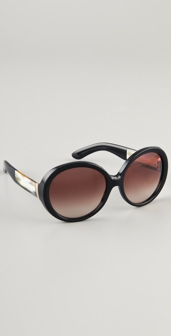 Yves Saint Laurent Oversized Round Sunglasses ($325)