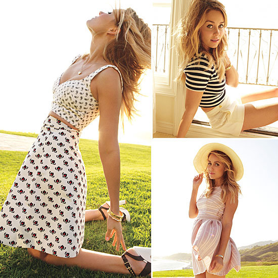 Lauren Conrad Glamour May 2012 Editorial