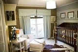 Rhett's Soothing Aqua and Brown Nursery