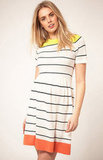 ASOS Knitted Stripe Dress ($72)