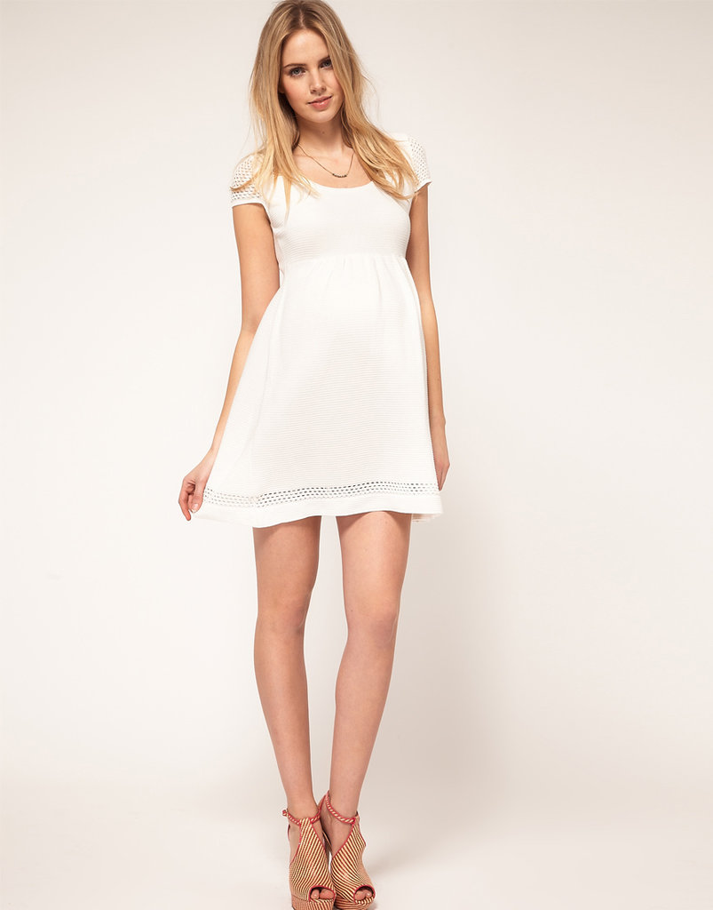 ASOS Knitted Dress With Crochet Sleeve ($82)
