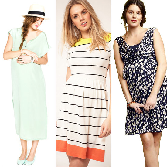 A Dozen Spring Shower Dresses to Show Off Your Bump