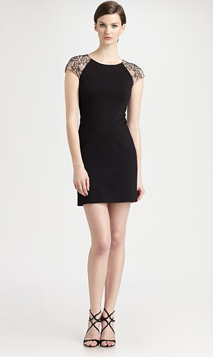 ERIN by Erin Fetherston lace sleeve dress ($255)