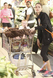 Jessica Alba and Haven Warren together on a grocery shopping trip to Whole Foods in LA.