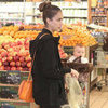 Jessica Alba at Whole Foods With Haven Pictures
