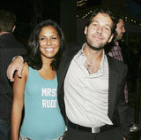 Paul Rudd met with a loving fan at the Aug. 2005 LA premiere of The 40 Year Old Virgin.