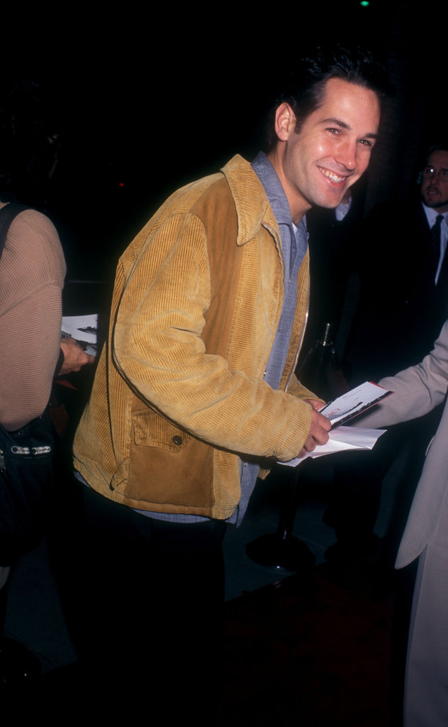 Paul Rudd checked out a Nov. 2006 performance of The Crucible in LA.