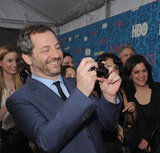 Judd Apatow snapped some pictures at HBO's Girls premiere in NYC.