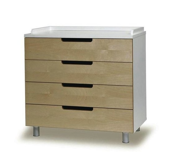 For the Nursery: Oeuf Classic 4-Drawer Dresser