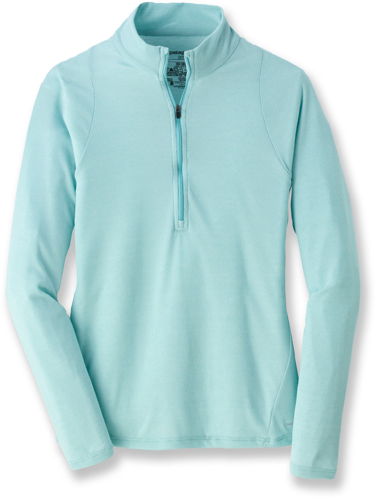 Patagonia Capilene Long-Sleeve Zip Tee