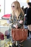 Rachel Zoe shopped around Resurrection boutique in West Hollywood.