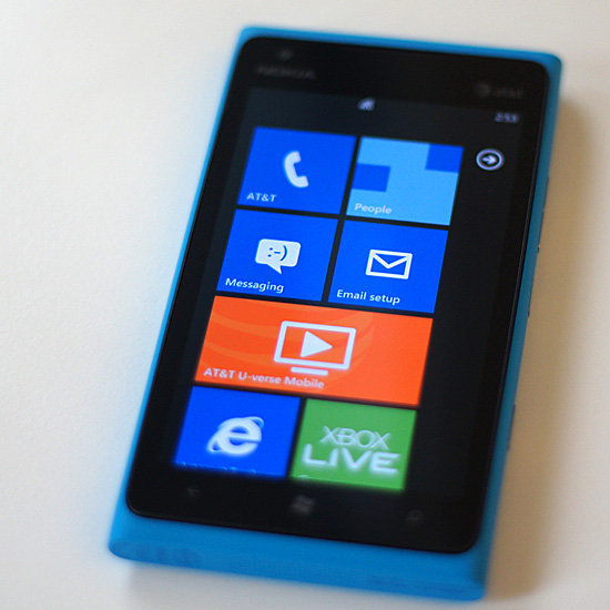 A Sneak Peek at the Nokia Lumia 900