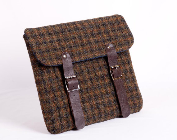 Tweed tablet case ($90)