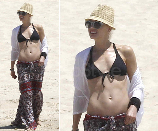 Adopt Gwen Stefani's maxiskirt styling tricks for your next beachy getaway.