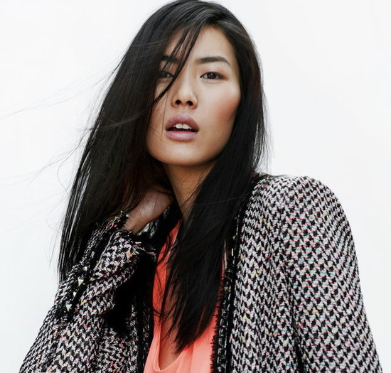 Liu Wen Stars in Zara's April 2012 Lookbook