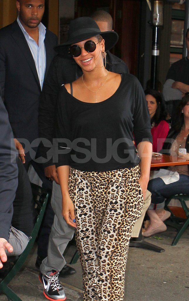 Beyoncé Knowles dined at Bar Pitti.