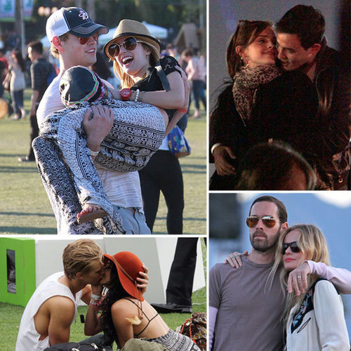 Celebrity Couples at Coachella 2012