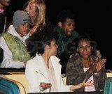 Usher rode several of the carnival rides.