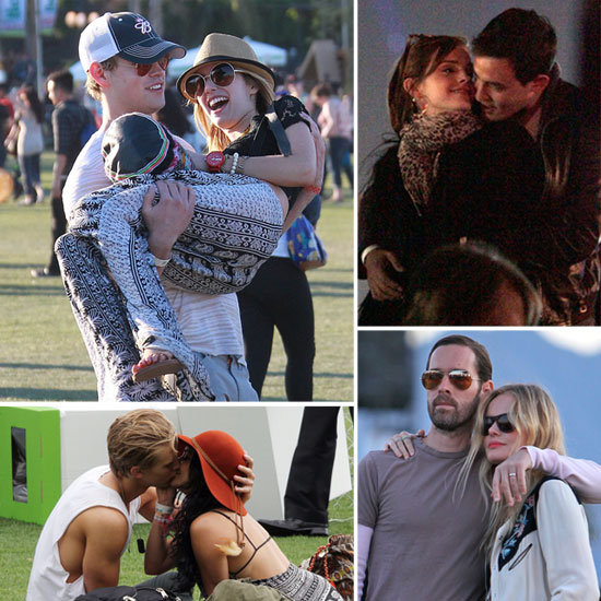 See Celebrity Couples Heat Up the Desert at Coachella