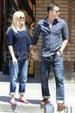 Pregnant Reese Witherspoon and her husband Jim Toth went to lunch.