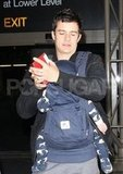 Orlando Bloom at LAX.