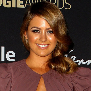 Jesinta Campbell's Beauty Look at the 2012 Logies