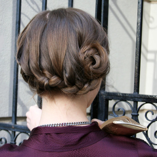 Learn This Springtime-Chic Braided Bun
