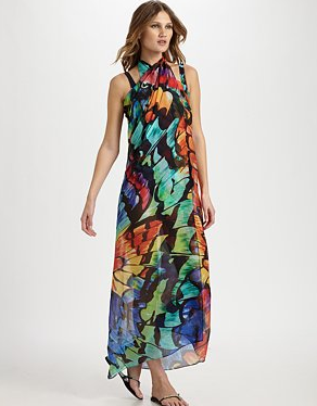 Gottex Swim empress silk cover-up ($228)
