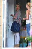 Gwen Stefani went to Orange County to celebrate Easter with her family.