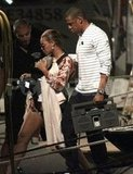 Beyoncé Knowles and Jay-Z vacationed in St. Barts with Blue Carter.