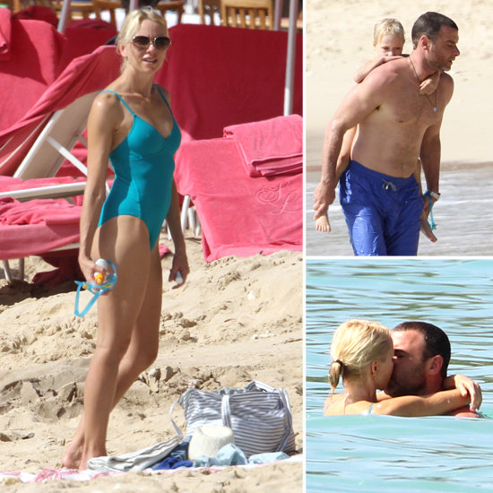 Naomi Breaks Out Her Swimsuit For a Barbados Vacation With Shirtless Liev