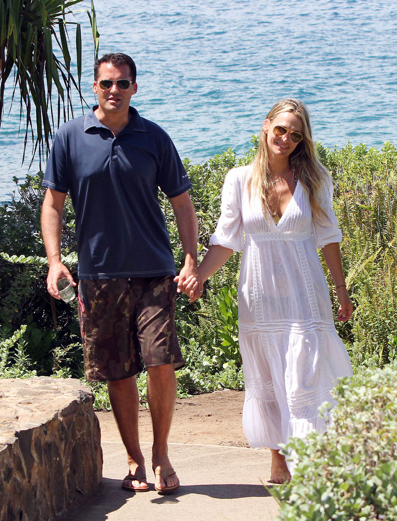 "Molly Sims and Scott Stuber got away to Maui after their September 2011 nuptials. A few months later they announced Molly was expecting a ""honeymoon baby!"""