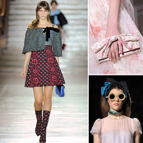 Cute Bow Accessories For Spring 2012