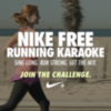 Nike Free Running Karaoke Challenge