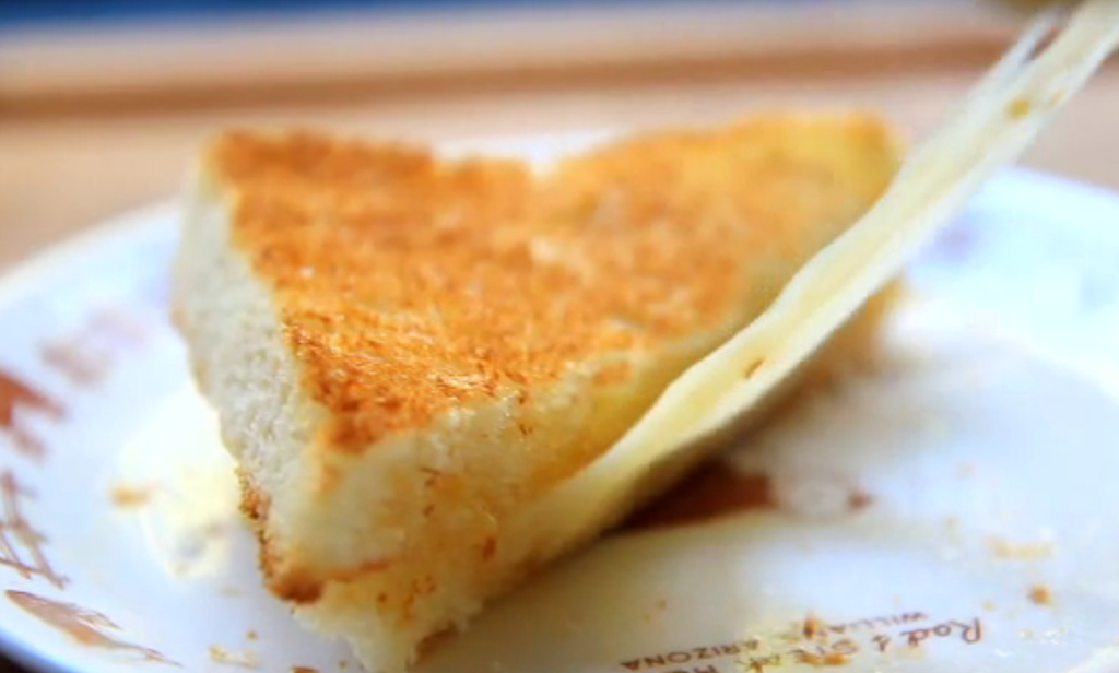 Honey-Truffle Grilled Cheese