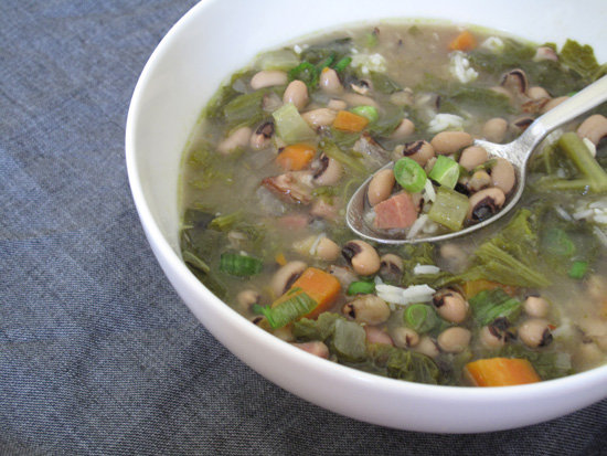 Hoppin&#039; John Soup