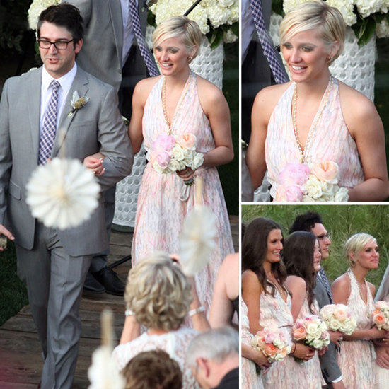 8 Halter Gowns Fit For a Fab Bridesmaid Inspired by Ashlee Simpson