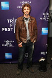 James Franco gave a smile at the premiere for Saturday Night during the Tribeca Film Festival in May 2010.